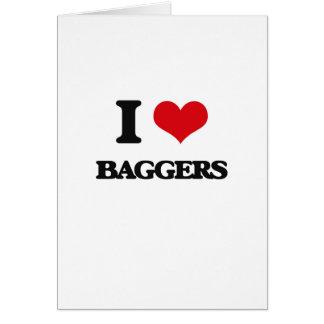 Eu amo Baggers Cartao