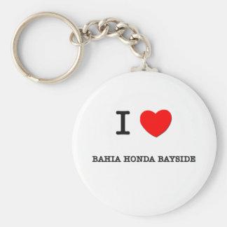 Eu amo BAÍA HONDA BAYSIDE Florida Chaveiro