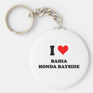 Eu amo Baía Honda Bayside Chaveiros
