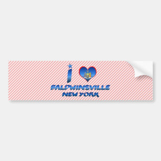 Eu amo Baldwinsville, New York Adesivo Para Carro