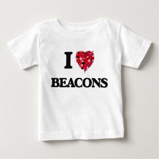 Eu amo balizas t-shirts