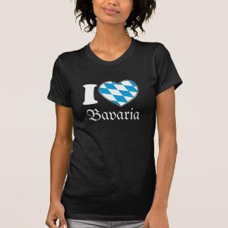 Eu amo Baviera - a camisa de Oktoberfest para