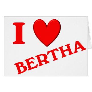 Eu amo Bertha Cartoes