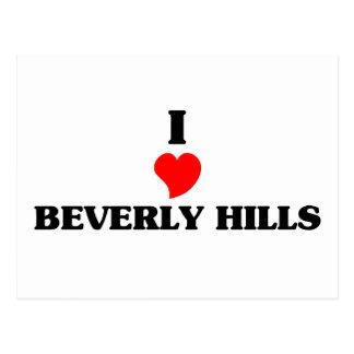 Eu amo Beverly Cartão Postal