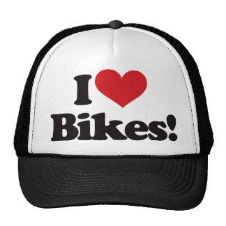 Eu amo bicicletas! boné