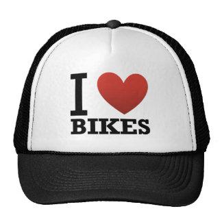 Eu amo bicicletas boné