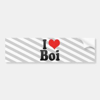 Eu amo Boi Adesivos