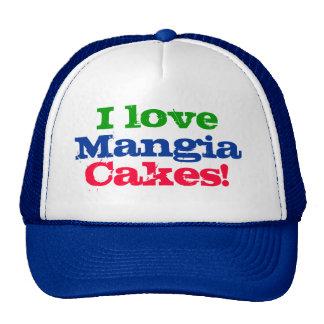 Eu amo bolos de Mangia! Boné