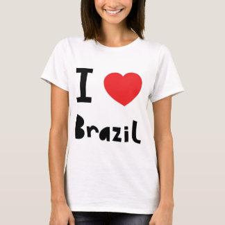 Eu amo Brasil Camiseta