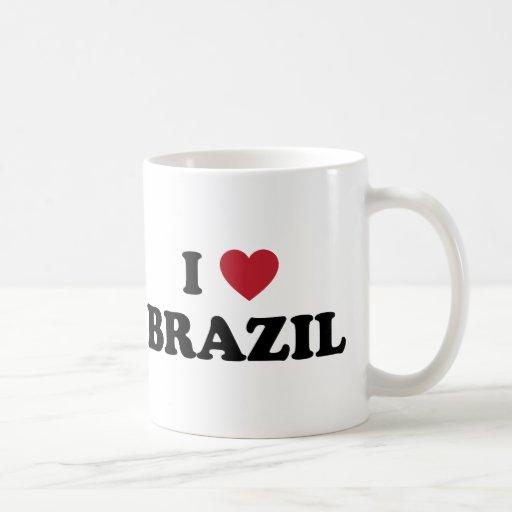 Eu amo Brasil Caneca