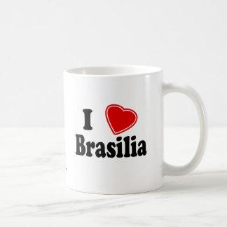 Eu amo Brasília Canecas
