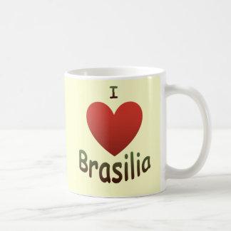 Eu amo Brasília Caneca