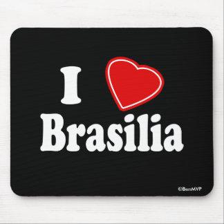 Eu amo Brasília Mousepads