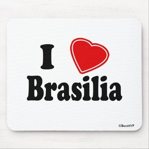 Eu amo Brasília Mousepad