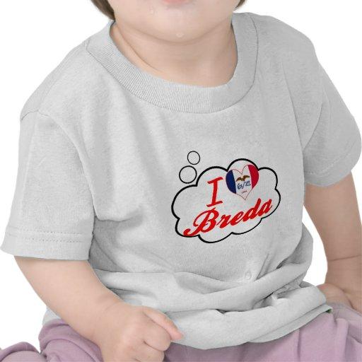 Eu amo Breda, Iowa Camiseta