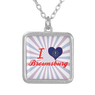 Eu amo Brownsburg Indiana Bijuteria