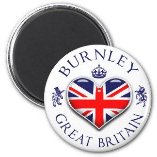 Eu amo Burnley Imã