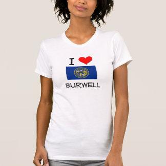 Eu amo Burwell Nebraska Tshirts
