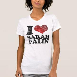 Eu amo camisas de Sarah Palin t