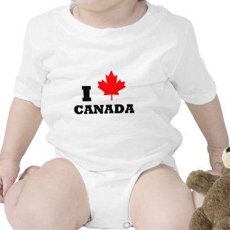 Eu amo Canadá Babador