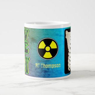 Eu amo caneca de café do raio X a grande