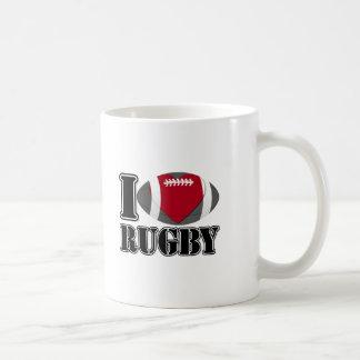 Eu amo canecas do rugby