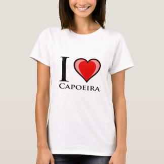Eu amo Capoeira Camiseta