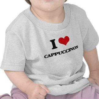 Eu amo Cappuccinos Tshirt