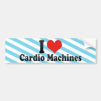 Eu amo cardio- máquinas adesivos