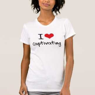 Eu amo cativar tshirt