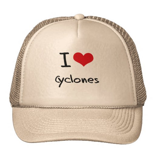 Eu amo ciclones bone