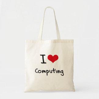 Eu amo computar bolsa para compra