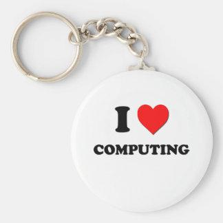 Eu amo computar chaveiro