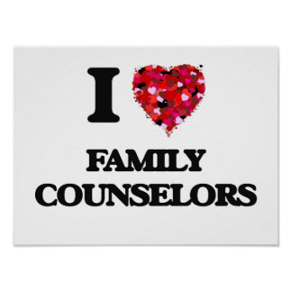 Eu amo conselheiros da família poster
