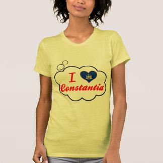 Eu amo Constantia, New York Tshirt