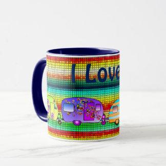 Eu amo… Copo personalizado Caneca