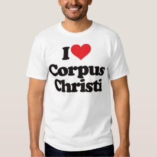 Eu amo Corpus Christi Tshirts