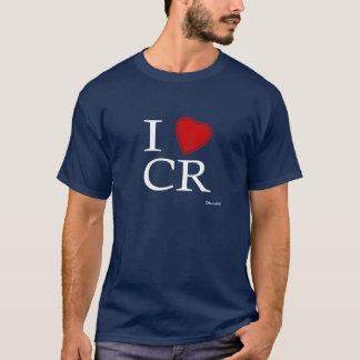 Eu amo Costa Rica Camiseta