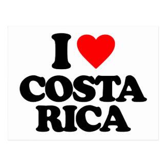 EU AMO COSTA RICA CARTÃO POSTAL