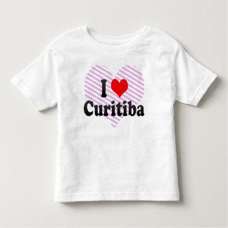 Eu amo Curitiba, Brasil Camisetas