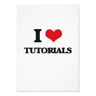 Eu amo cursos convite 12.7 x 17.78cm