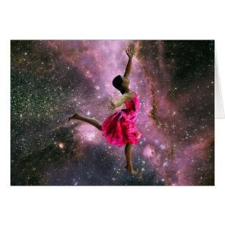 Eu amo dançar! cartão comemorativo