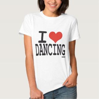 Eu amo dançar tshirt