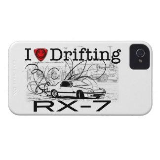 Eu amo derivar RX-7 Capinhas iPhone 4