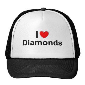 Eu amo diamantes (do coração) bones