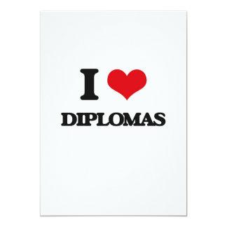 Eu amo diplomas