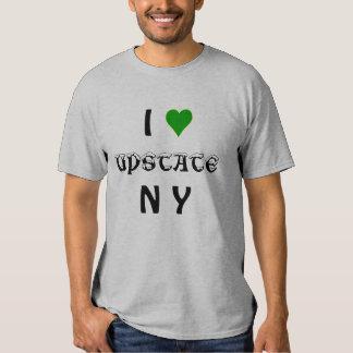 Eu amo do norte do estado NY Camiseta