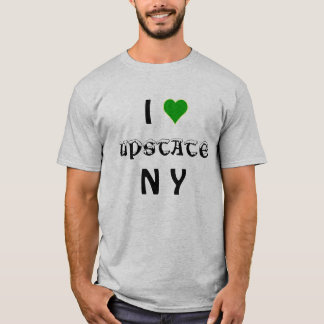 Eu amo do norte do estado NY Camiseta