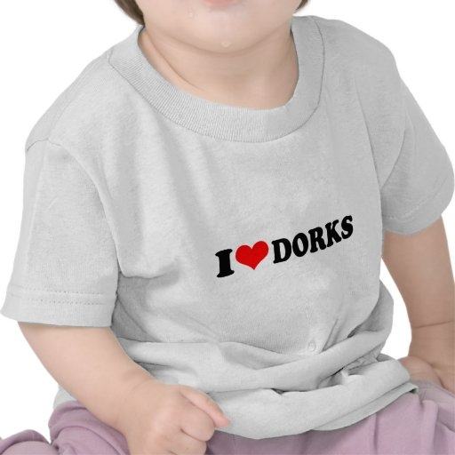 EU AMO DORKS (DO CORAÇÃO) CAMISETA