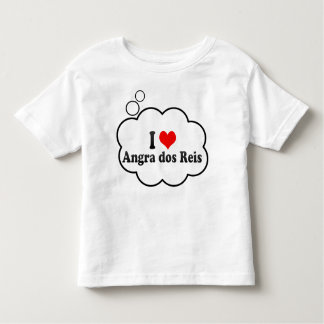 Eu amo dos Reis de Angra, Brasil T-shirts